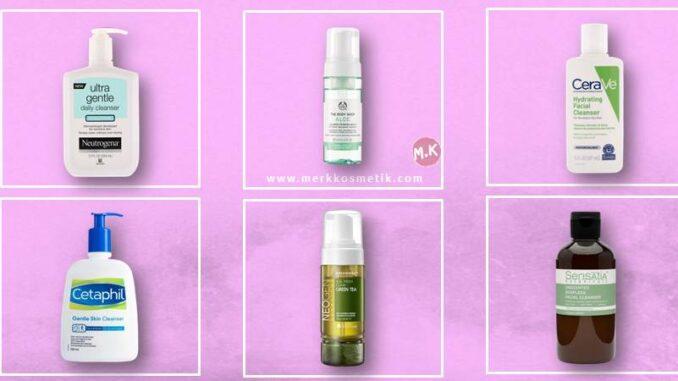 Facial Wash Untuk Kulit Sensitif