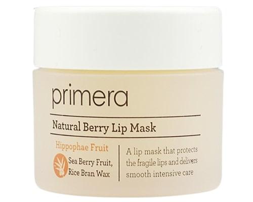 Primera Natural Berry Lip Mask, Masker Bibir Yang Bagus Untuk Bibir Kering