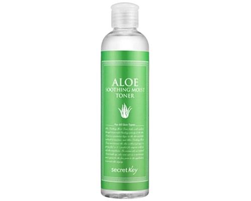 Secret Key Aloe Soothing Moist Toner, Hydrating Toner Yang Mengandung Hyaluronic Acid