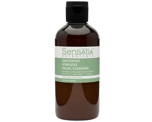 Sensatia Botanicals Unscented Soapless Facial Cleanser, Facial Wash Untuk Kulit Sensitif