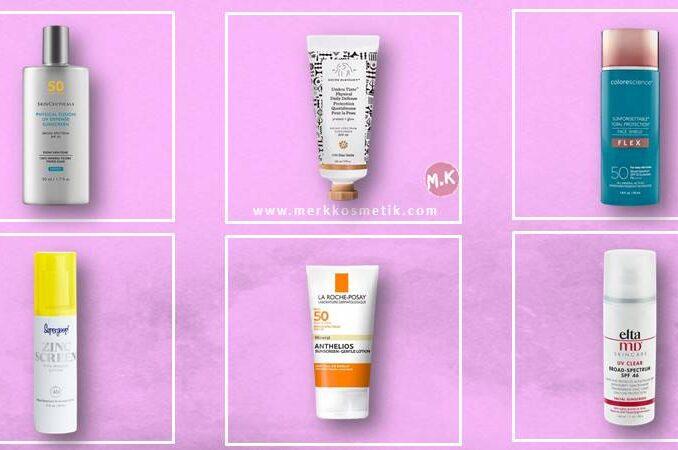 Sunscreen Yang Mengandung Zinc Oxide