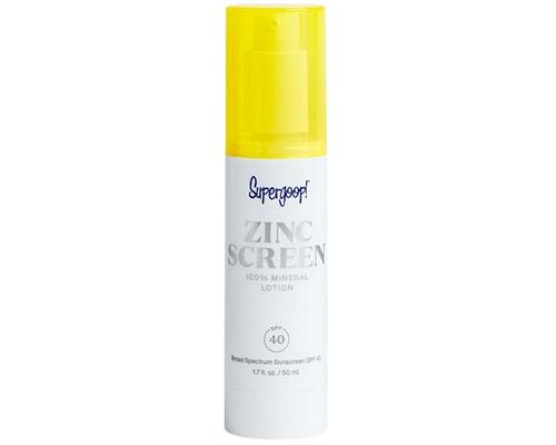 Supergoop! Zincscreen 100% Mineral Lotion SPF 40, Sunscreen Yang Mengandung Zinc Oxide