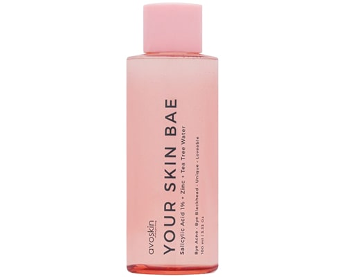 Avoskin Your Skin Bae Toner Salicylic Acid 1% + Zinc + Tea Tree Water