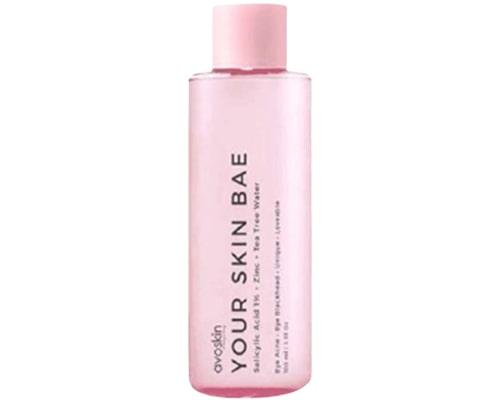 Avoskin Your Skin Bae Toner Salicylic Acid 1% + Zinc + Tea Tree Water, Toner Lokal Untuk Kulit Kombinasi