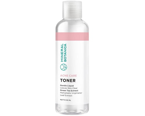 Toner Lokal Untuk Kulit Berminyak, Mineral Botanica Perfect Purifying Toner