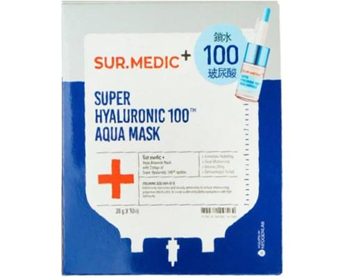 Masker Yang Mengandung Hyaluronic Acid, Neogen Sur.Medic+ Super Hyaluronic 100 Aqua Mask