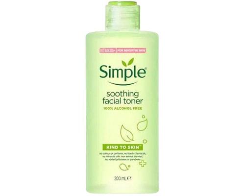 Simple Soothing Facial Toner, Toner Tanpa Alkohol Dan Parfum