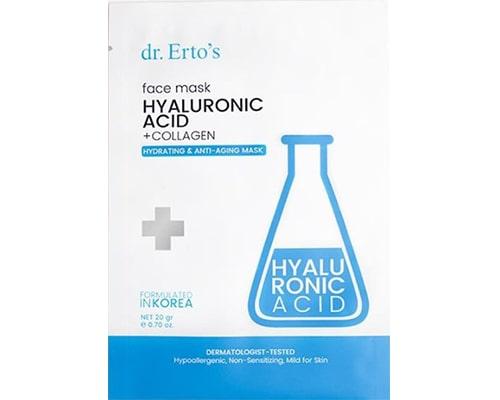 dr.Ertos Hyaluronic Acid + Collagen Sheet Mask