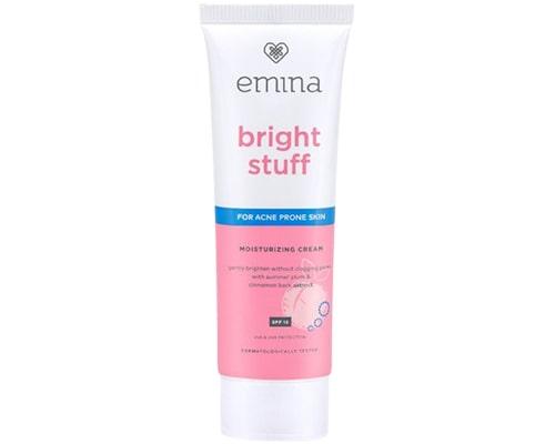 Pelembab Untuk Kulit Kombinasi Remaja, Emina Bright Stuff for Acne Prone Skin Moisturizing Cream