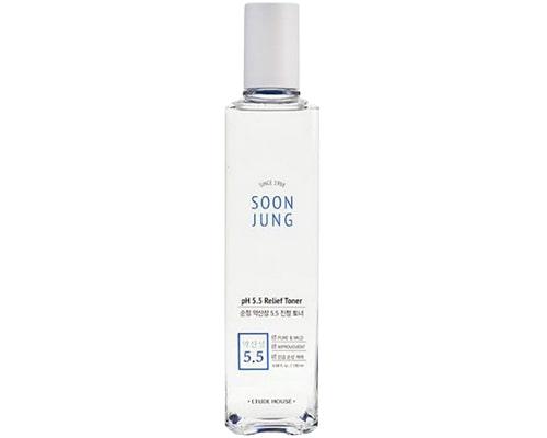 Hydrating Toner Untuk Kulit Berminyak, Etude House Soon Jung pH 5.5 Relief Toner