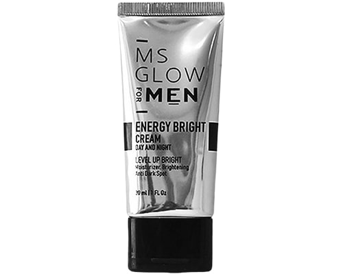 Cream Malam Untuk Cowok, Ms Glow For Men Energy Bright Cream