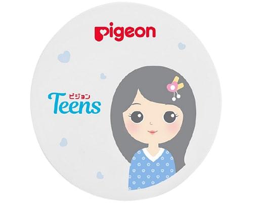 Pigeon Teens Compact Powder UV Protection, Bedak Padat Yg Bagus Untuk Kulit Kering