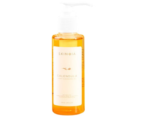 Double Cleansing Yang Bagus, Skinoia Calendula Light Cleansing Oil