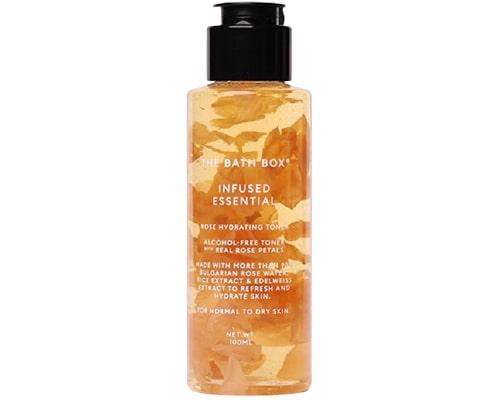 Hydrating Toner Untuk Kulit Kering Sensitif, The Bath Box Infused Essential Rose Hydrating Toner