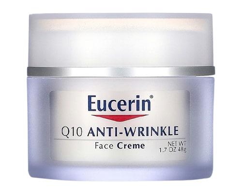 Eucerin Q10 Anti-Wrinkle Face Creme, Merk Pelembab Untuk Kulit Kering dan Sensitif