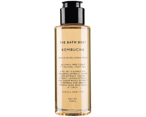 Exfoliating Toner Untuk Kulit Berminyak, The Bath Box Kombucha Gentle Exfoliating Toner